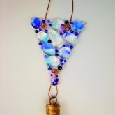 Fused-glass-hanging-with-cowbell