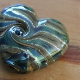 Lampwork-glass-heart-bead