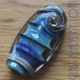 Silver-blue-lampwork-bead