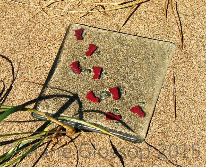 Footprint-coaster